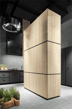 Minacciolo presenta i monoliti Natural Skin Kitchen Fan, Hidden Kitchen, Kitchen Unit, Contemporary Kitchen Design, Interior Design Kitchen, Arch Interior, Interior Architecture, Style At Home, Kitchen Without Handles