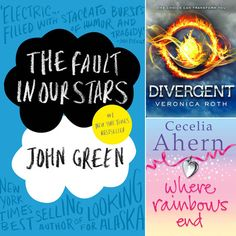 Young Adult books to read before they're movies