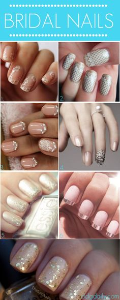 Bridal Nails: A DDG Moodboard full of wedding-inspired tips - dropdeadgorgeousdaily.com