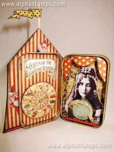 www.AlphaStamps.com Gallery - Kristin Batsel - Altered Tin