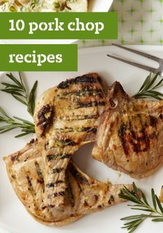 10 Pork Chop Recipes – From Healthy Living suppers to pork chops smothered in sauce, our pork chop recipes rival chicken dishes in the versatility department!