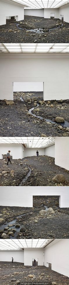 - a grouped images picture - Pin Them All Olafur Eliasson piece that has nature interact with man made architecture in an interesting way Contemporary Artists, Modern Art, Damian Ortega, Rite De Passage, Instalation Art, Olafur Eliasson, Environmental Design, Stage Design, Art Plastique