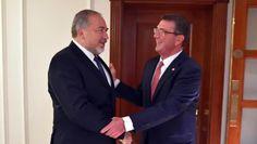 Liberman se reunió con el secretario de Defensa de EE.UU. en Londres - http://diariojudio.com/noticias/liberman-se-reunio-con-el-secretario-de-defensa-de-ee-uu-en-londres/207960/