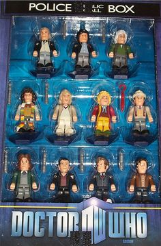 """Awesome Doctor Who - """"Eleven Doctors Micro-Figure Set"""" by Darth Ray, via Flickr"""