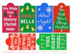 Christmas Carol Gift Tags
