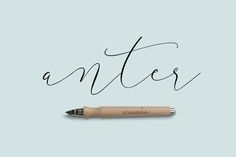 Anter Script by vuuuds on Creative Market