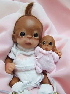 Monkey and her doll