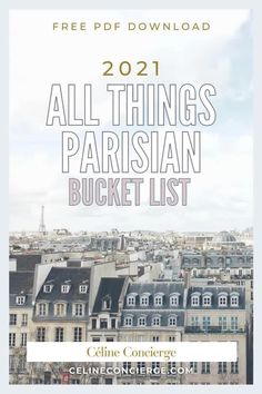 Grab your 2021 Paris bucket list for the best things to do! It's filled with unforgettable, fun