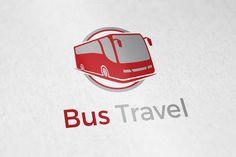 Bus Travel Logo by aykutfiliz on @creativework247