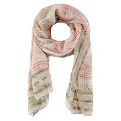 Sandwich Clothing Blurred Dot Print Scarf - Green