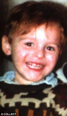 CHILDREN MURDERERS :  Twenty years ago (12.02.93), Jamie Bulger, the two years old who wandered off from his mother Denise in the New Strand shopping centre, Bootle, Merseyside, and was found murdered on a railway line three miles away.  The two killers were 10 years old boys.