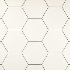 Bathroom floor & shower side walls if desired: Opal White Hexagon Porcelain Tile - 11 x 13 - 100505379 Hexagone Tile, Hexagon Tile Bathroom Floor, Hexagon Tile Backsplash, Shower Tiles, White Porcelain Tile, White Hexagonal Tile, Honeycomb Tile, Rustic Bathroom Vanities, Hall Bathroom