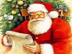 Free Santa Cross Stitch Pattern