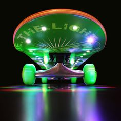 skateboard with lights