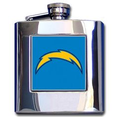 """Checkout our #LicensedGear products FREE SHIPPING + 10% OFF Coupon Code """"Official"""" NFL Hip Flask - Los Angeles Chargers - Officially licensed NFL product Licensee: Siskiyou Buckle    Los Angeles Chargers - Price: $36.00. Buy now at https://officiallylicensedgear.com/nfl-hip-flask-los-angeles-chargers-fhf041"""