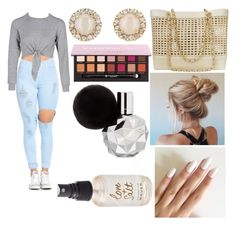 """""""Untitled #437"""" by taliar992 ❤ liked on Polyvore featuring Kate Spade, Anastasia Beverly Hills, Chanel and Olivine"""