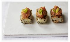 Spicy Tuna on Crispy Rice | goop.com