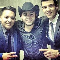 Luis Coronel<3 con Gerardo Ortiz y Hugo