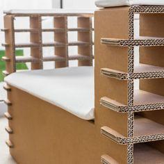Cardboard furniture diy paint 61 ideas for 2019 Diy Cardboard Furniture, Diy Furniture Cheap, Diy Furniture Hacks, Barbie Furniture, Rustic Furniture, Furniture Design, Furniture Legs, Garden Furniture, Plywood Furniture