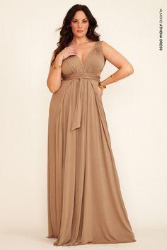 a little long, but I like the dress . . .