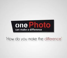 onePhoto 'can make a difference'