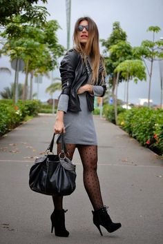 How to wear fall fashion outfits with casual style trends Fashion Mode, Look Fashion, Skirt Fashion, Autumn Fashion, Fashion Outfits, Womens Fashion, Fashion Ideas, Shorts Outfits Women, Fall Outfits