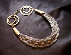 Plaited Horse Hair Necklace by Lilianafranz on Etsy