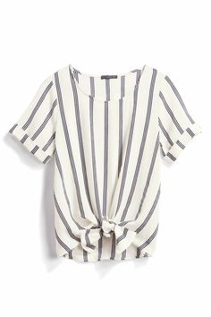 Cute and I love the vertical stripes!