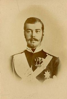 Tsarevich Nicholas Alexandrovich of Russia