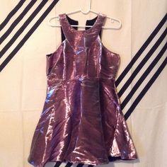 Color Changing Metallic Dress