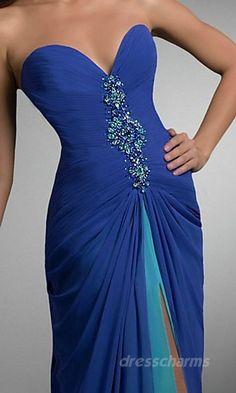 Beautiful beachhead colors in this dress