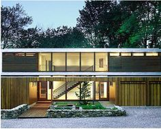 Sleek modern residence with massive window walls by Dynamic Architectural Windows & Doors.