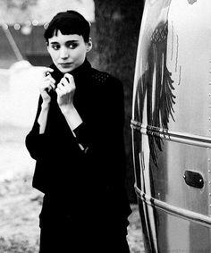 Rooney Mara.-modern day Audrey?