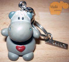 No. 153   víziló   kulcstartó   NICI   hippo   keyring