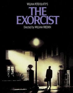 A #poster for the most powerful horror film of all time. Stunning image. #The_Exorcist