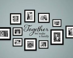 Pallet Ideas, Family Pictures On Wall, Family Wall Decor, Hallway Wall Decor, Modern Home Furniture, Modern Interior, Interior Design, Bedroom Wall, Girls Bedroom