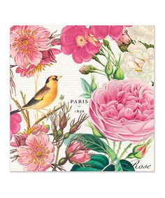 Take a look at this Michel Design Works Rose Garden Luncheon Napkin - Set of 60 by Michel Design Works on #zulily today!