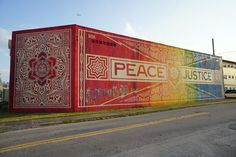 Shepard Fairey at Wynwood Walls