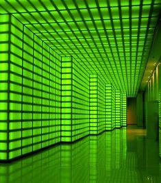 'The Green Room' by minau Futuristic Interior, Neon, In some places it has a very futuristic vibe. Dark Green Aesthetic, Rainbow Aesthetic, Aesthetic Colors, Favelas Brazil, Futuristic Interior, Green Photo, Green Wallpaper, Green Rooms, Photo Wall Collage