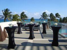 Zky Bar terrace, coctail set up ideas.