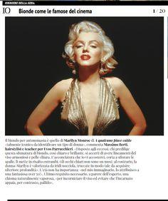 #bionde come le famose del #cinema  @evos_italia  online su @IO DONNA  con il parere del teacher  Massimo Berti  http://www.iodonna.it/bellezza/capelli/gallery/capelli-biondi-come-marilyn-scarlett-johannson-kim-basinger-copia-il-colore-dai-film-famosi/
