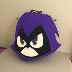 Teen Titans Go Inspired RAVEN handmade Pinata by AbdisPinataShop on Etsy https://www.etsy.com/listing/230570029/teen-titans-go-inspired-raven-handmade