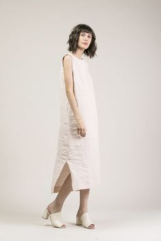Kate Maxi, Blush by Ilana Kohn #kickpleat #ilanakohn