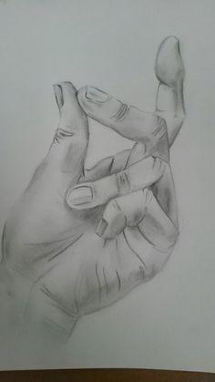 Hand zeichnen, realistic drawing,