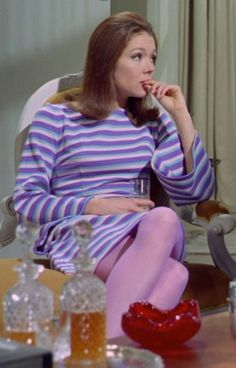 The Avengers : Fashion Guide to Series 5 : 2 Emma Peel, Audrey Fluerot, Harriet Andersson, Diana Riggs, The Original Avengers, Dame Diana Rigg, Gal Gabot, Avengers Girl, Bond Girls