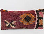 kilim lumbar pillow tribal decor modern decor bench pillow case oversized rug turkish throw pillow kilim floor pillow turkish pillow 28508