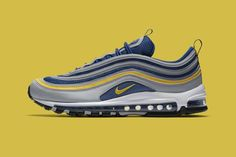 fcceb0ec65addc Nike Air Max 97 Revealed In Michigan Colors