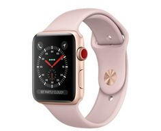 AppleWatch Series3 GPS+Cellular, 42mm Gold Aluminum Case with Pink Sand Sport Band  https://store.apple.com/xc/product/MQK32LL/A