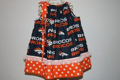 Baby Girls 6 Mo-4T DENVER BRONCOS PILLOWCASE Dress w/ Princess Dress Up, 6 Mo, Denver Broncos, Baby Girls, Summer Dresses, Trending Outfits, Skirts, Etsy, Fashion