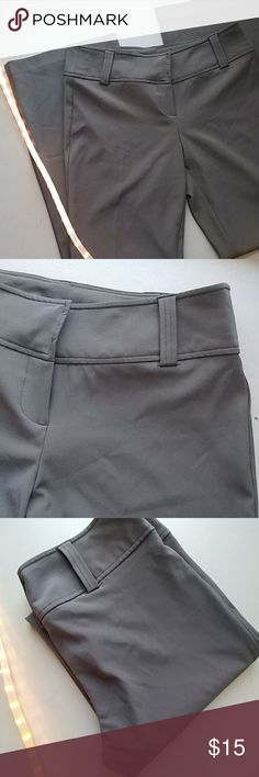 No boundaries STRETCH DRESS PANTS Size 7 charcoal gray..only worn once 95% polyester. 5% spandex No Boundaries Pants Trousers